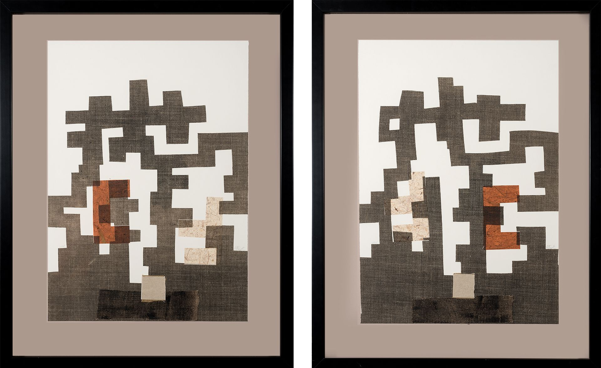 COLLAGE CHILLIDA I & II