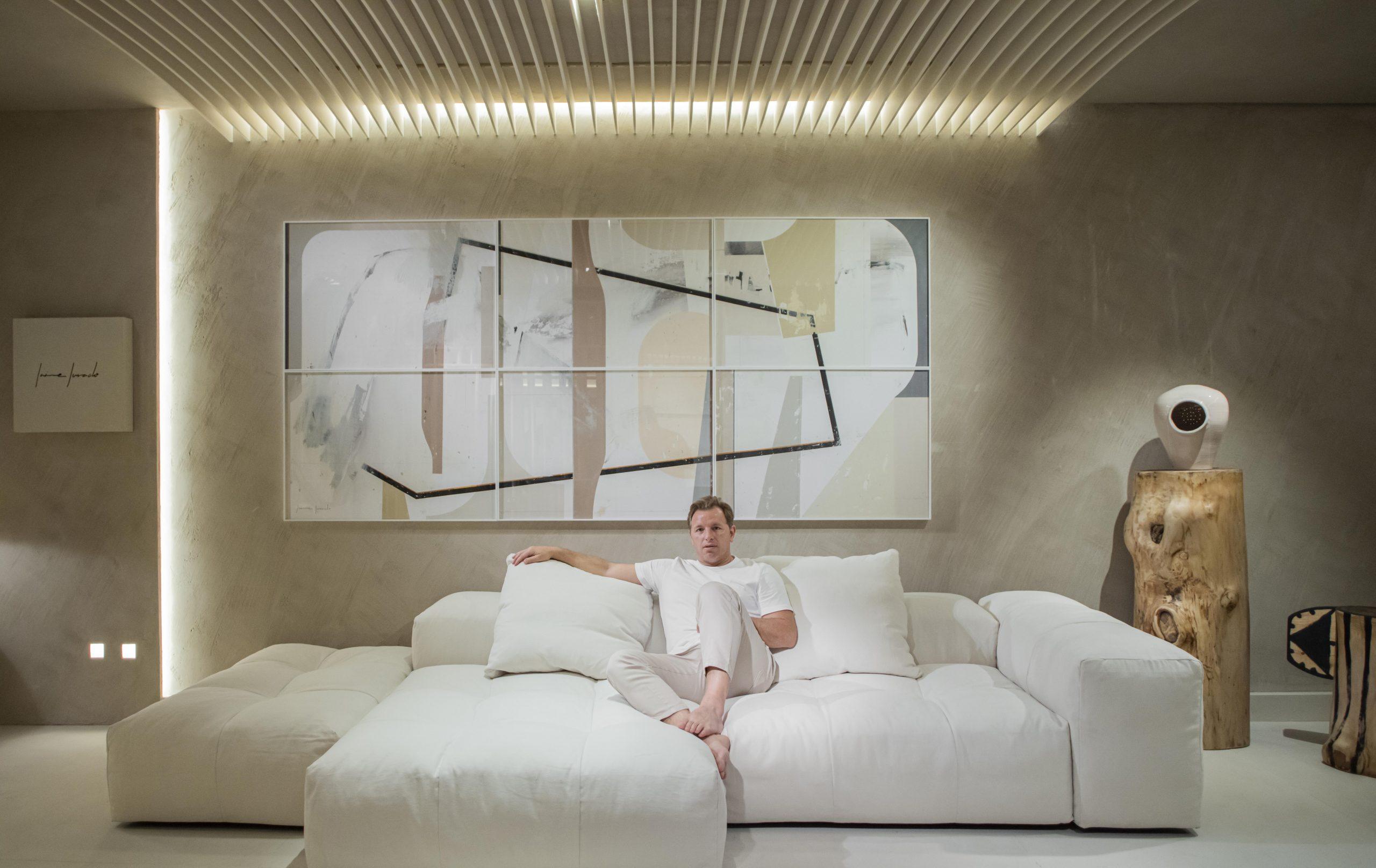 Jaime Jurado at Casa Decor 2021, Madrid.