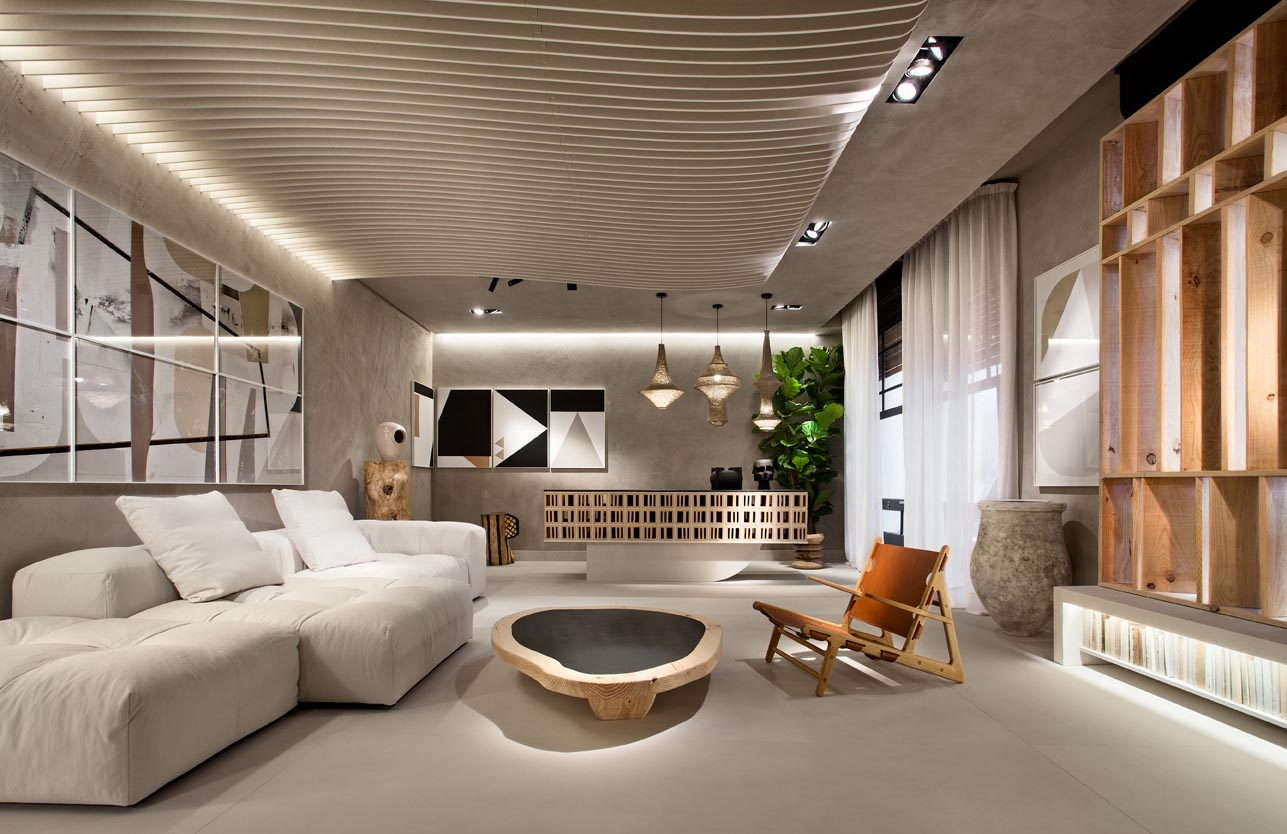 Jaime Jurado proposal at Casa decor 2021.